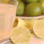 Limoensap, super healthy start van je dag! – powerfood party