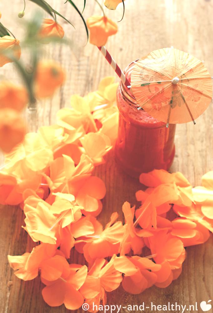 WK Oranje power smoothie