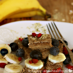 Raw bananenbrood, happy and healthy style!