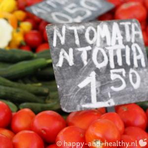 Biomarkt Volos Griekenland Vierkant 2 300