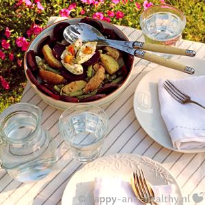 Zomerse Powerfood Salade, Deze Keer Met Rode Bieten