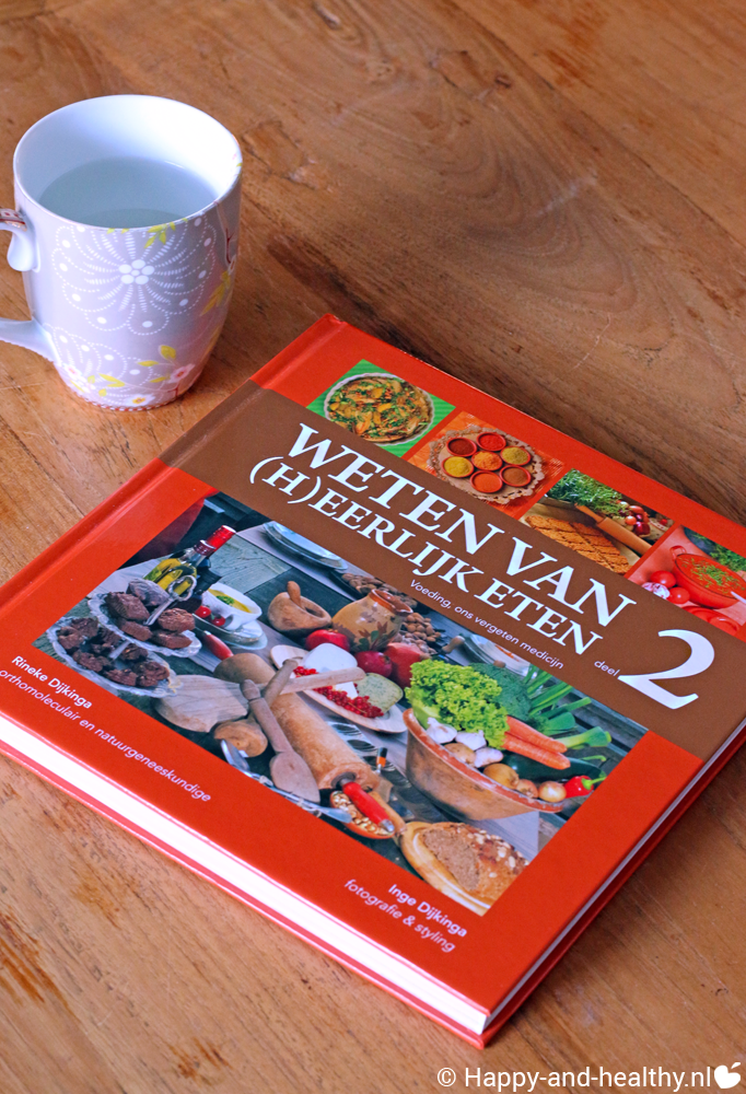 rineke dijkinga, weten van heerlijk eten deel 2 boekreview