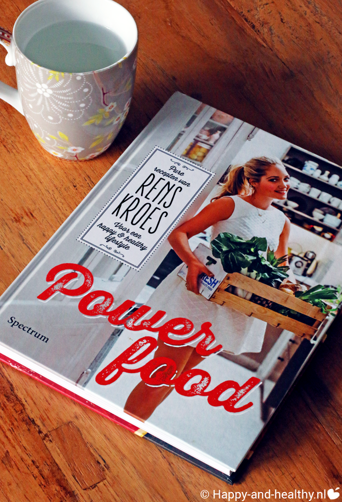 Rens Kroes, kookboek Powerfood, boekreview