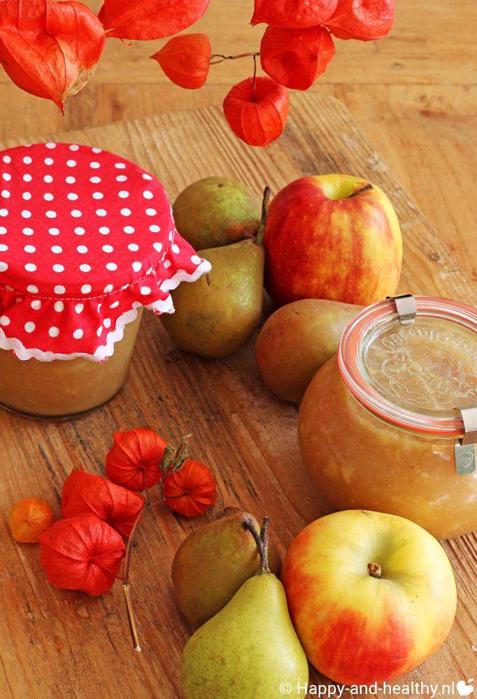 Appelcompote, hmm makkelijk zelggemaakt en zonder suiker en andere meuk