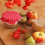 Appelcompote, lekker herfstig & lekker zonder suiker