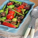 Gegrilde groenten salade: makkelijke maandag it is