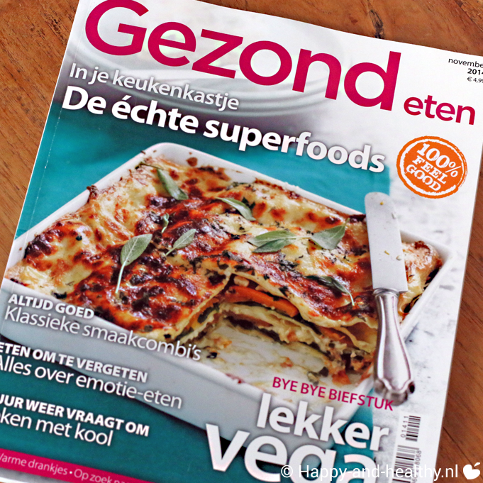 Gezond eten magazine review