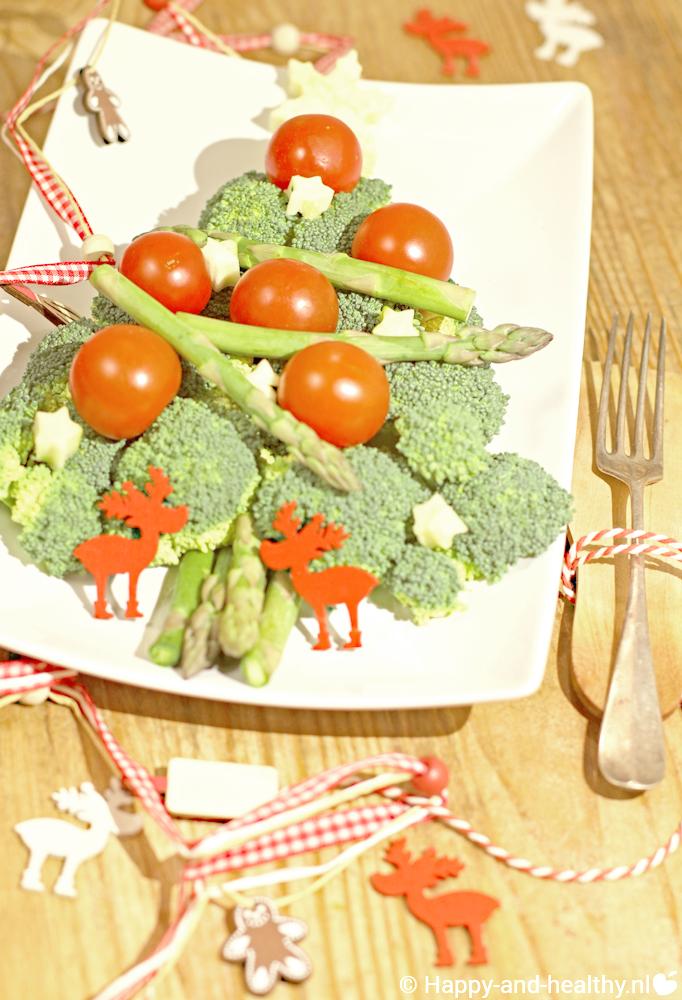 Gourmet broccoli kerstboom Kerst