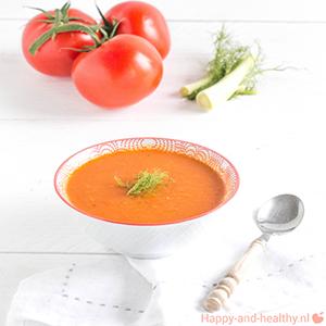Zomers Venkel Tomaten Soepje, Lekker!