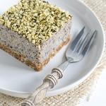 Raw bosbessen taartje, een yummy & gezond petit fourtje