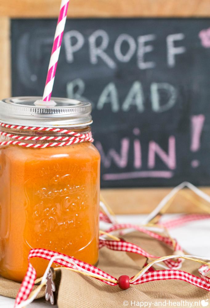 Slow juice winactie lancering Natuurlijk samen koken 14 november 2015