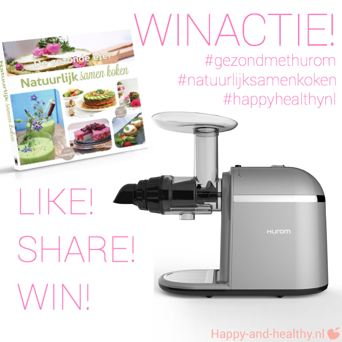 winactie Hurom Chef slowjuicer