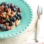 Amaranth, lekker als ontbijt oats met noten en fruit!