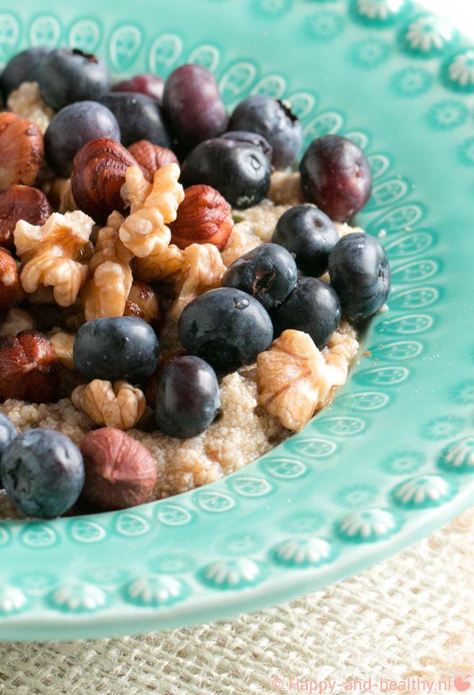 Amaranth oats met fruit en noten