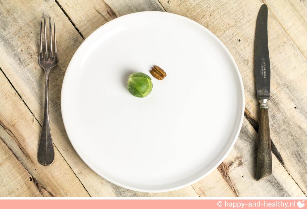 Goede voornemens, streng dieet werkt niet!
