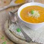 Pastinaak wortel soep, hmmmm lekker!