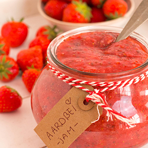 Aardbeien Jam Zonder Suiker, Hmmm Homemade Natuurlijk